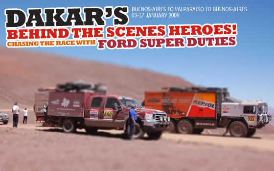 Dakar's Behind-The-Scenes Heroes