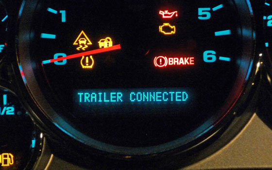 Trailer Brake Controller Message