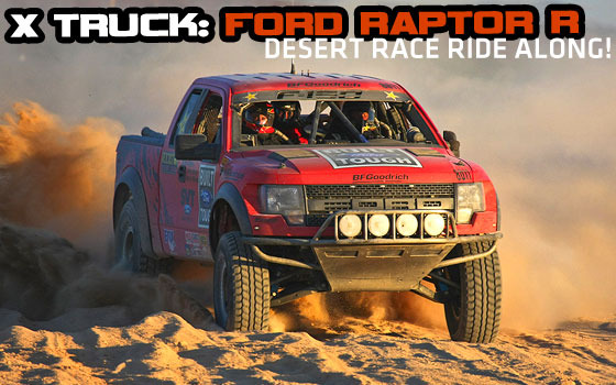 Ford Raptor R Desert Race Ride Along