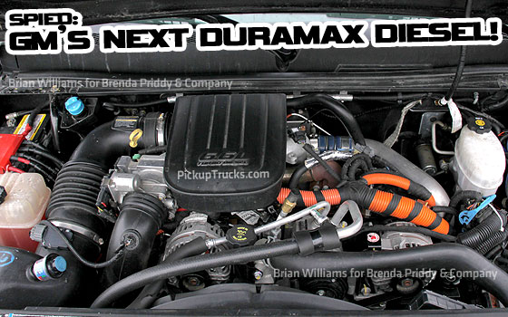 Spied! GM's Next Duramax Diesel Engine