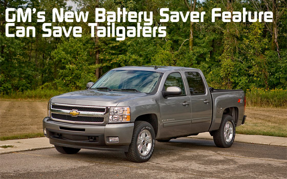 GM's New Battery Saver Feature Can Save Tailgaters