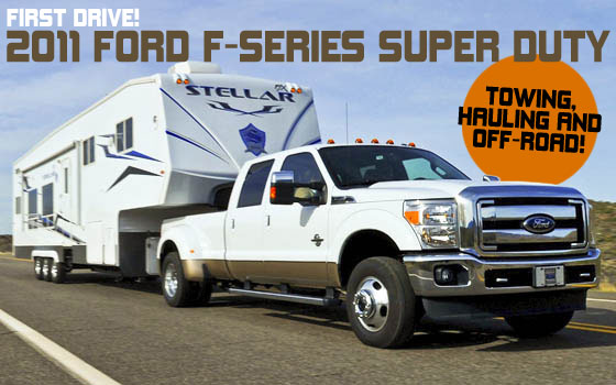 First Drive Review: 2011 Ford F-Series Super Duty