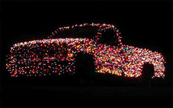 Behold, the Christmas Truck