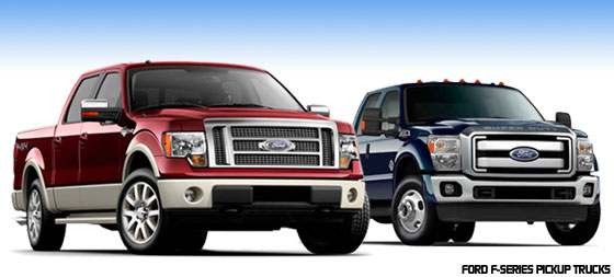 April 2010 Top 10 Year-to-Date Pickup Truck Sales