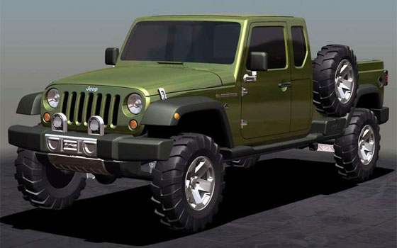 Sources Say: Jeep Pickup Truck Coming for 2012