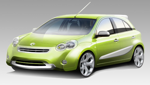 Smart five-door hatchback