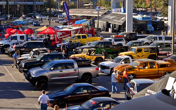 Video Tour: Cool Trucks of the 2010 SEMA Show