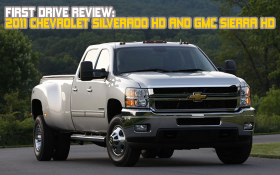First Drive Review: 2011 Chevrolet Silverado and GMC Sierra Heavy Duty