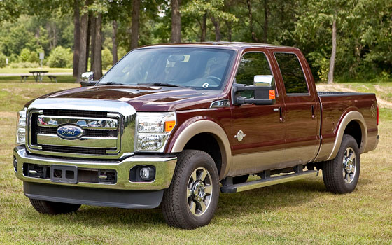 2011 Ford F-250 with 6.7-liter Power Stroke Diesel V-8