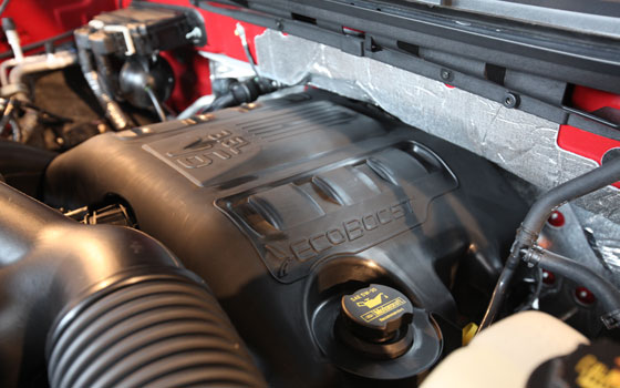 2011 Ford F-150 EcoBoost V-6 Photos and Additional Engine Details