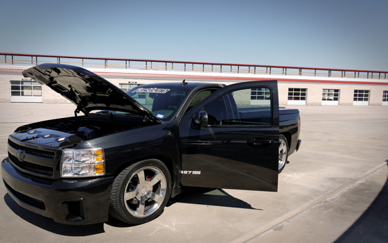 Back in Black: Fastlane's 427 SS Silverado By Robby DeGraff