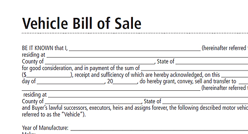 a sales agreement,