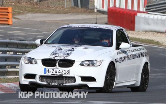 Spied! BMW M3 Pickup Truck Runs the Nürburgring