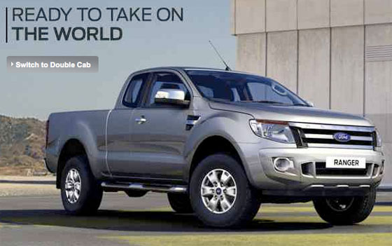 This Is What The New Ford Ranger Super Cab Looks Like