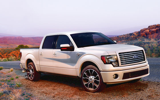 First Look: 2012 Ford Harley-Davidson F-150