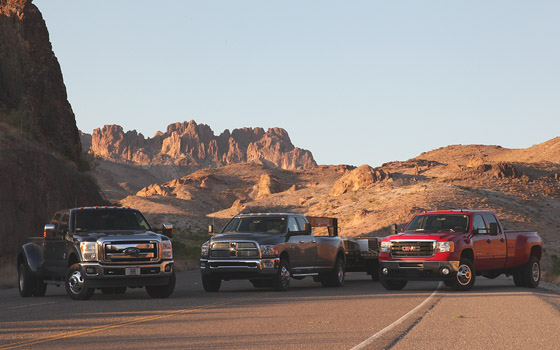Which One-Ton Truck Will Survive the Heavy-Duty Hurt Locker?