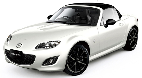 2012 MX-5 Crystal White (front 3-4)