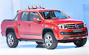 VW's New Amarok at Geneva Motor Show