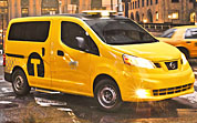 Nissan's NV200: New York's New Taxi