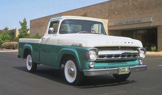 1957 Mercury pickup