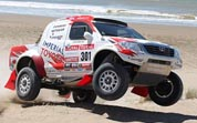 2012 Dakar Rally Has Toyota Finish Third
