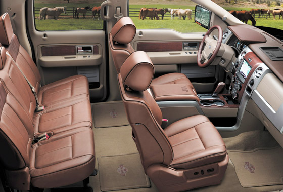 Ford F-150 King Ranch Interior
