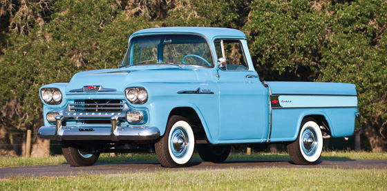 RT 1958 Chevrolet Half-Ton Cameo Carrier Pickup Truck II