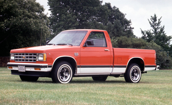 95 Years --1982-Chevrolet-S-10 II