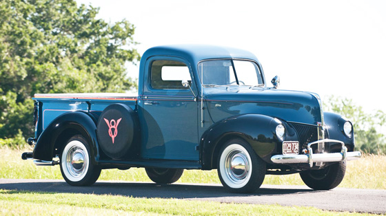 RT 1940 Ford Custom Pickup Truck II