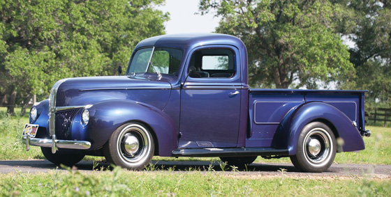 RT 1941 Ford Flareside Custom Pickup Truck II