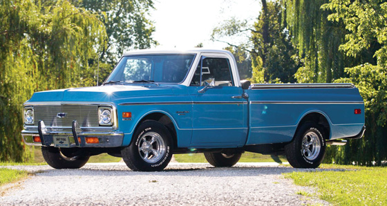 RT 1972 Chevrolet C10 Custom Fleetside Pickup II II