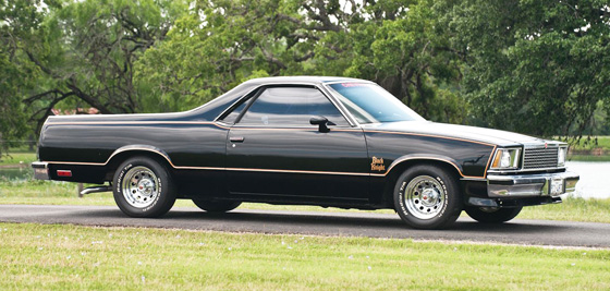 RT 1978 Chevrolet El Camino Black Knight II