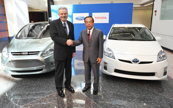 Ford and toyota collaboration II
