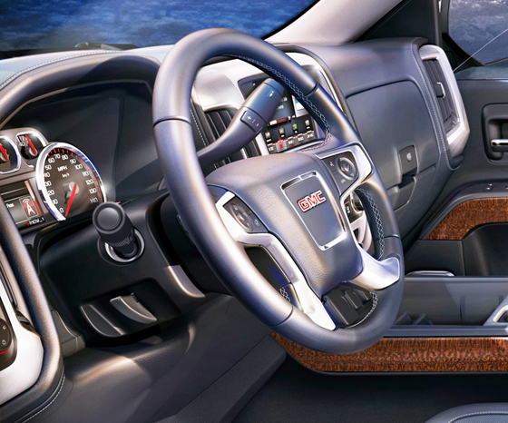 GMC Steering wheel II