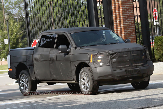 Ford F-150 spy CD 6 II