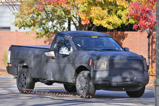 Ford F-150 spy CD 1 II
