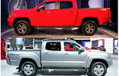 2015 Colorado Vs. 2014 Tacoma: Side by Side