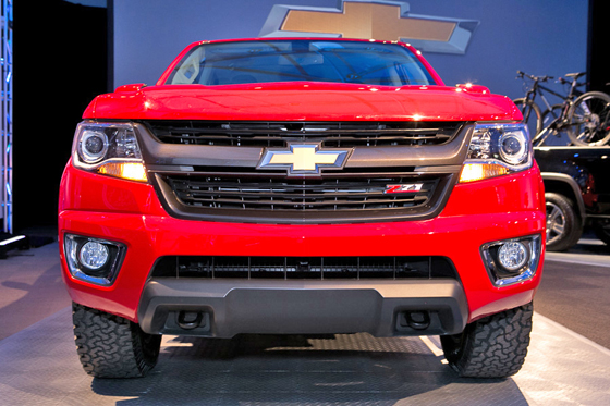 Chevy Colorado grille II