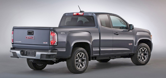 2 2015 GMC Canyon rear II