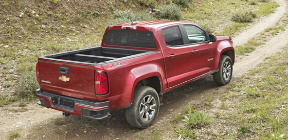 Chevy Colorado rear 2 II