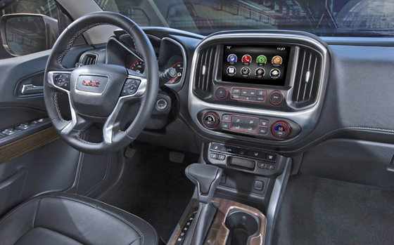 6 2015 GMC Canyon Int 1 II