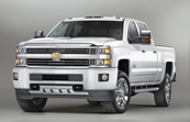 2015 Chevrolet Silverado HDs Get High Country Treatment