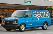 Via Motors Debuts Light-Duty Electric Van
