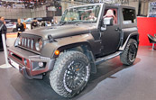 Jeep CJ300 Black Hawk Turns Heads at 2016 Geneva Motor Show