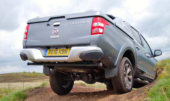 Fiat Fullback down hill rear 2 II