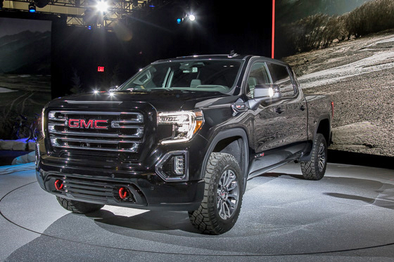 2019 GMC Sierra 1500 AT4 Up Close: Photo Gallery - PickupTrucks.com News