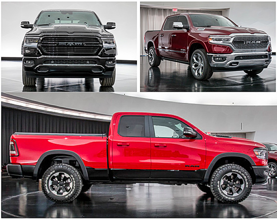 2019 Ram 1500 Photo Gallery: Half Ton Ups Its Interior ...