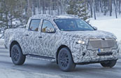 Spied: 2019 Mercedes-Benz X-Class Pickup