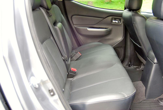 Fiat Fullback rear seats II