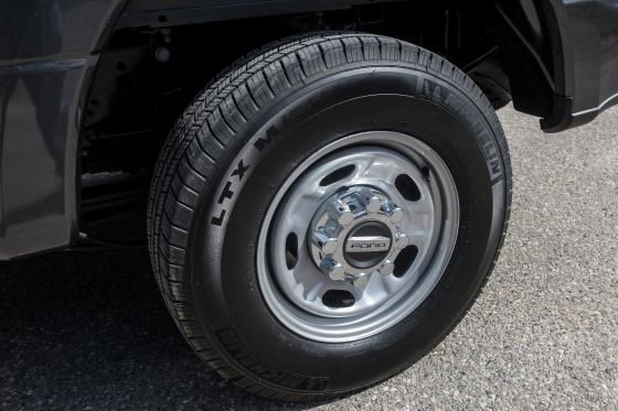 2019 Ford F-250 17-Inch Steel Tires